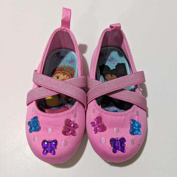 Disney Shoes | Disneys Fancy Nancy Slip
